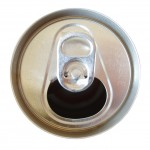 Pop can, showing link of sugar and caffine to migraines