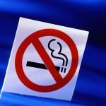 No smoking sign, stop smoking to stop migraines